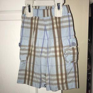 Boys infant Burberry pattern pant